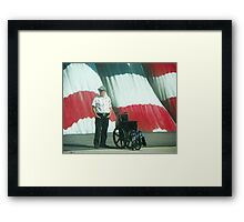 On American Streets Framed Print