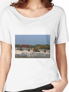 Two Bulldozers Women's Relaxed Fit T-Shirt