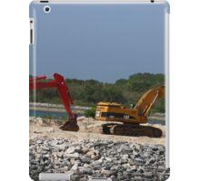 Two Bulldozers iPad Case/Skin