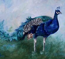 Mr. Peacock by Brenda Thour
