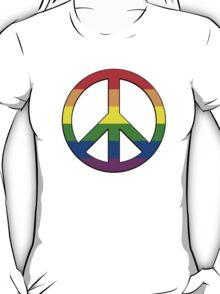 Gay Pride Peace T-Shirt