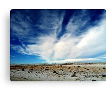 Wyoming Landscape Canvas Print