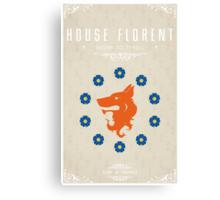 House Florent Canvas Print