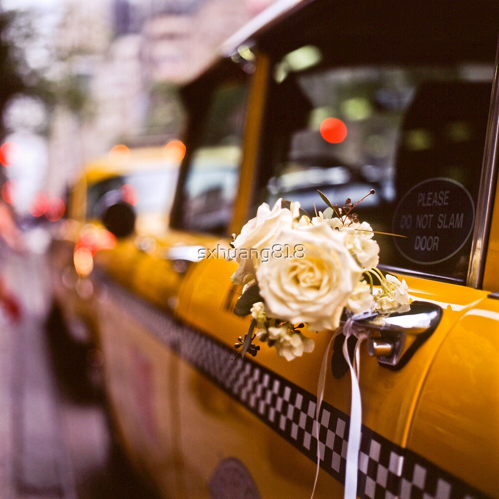 Wedding TAXI by sxhuang818