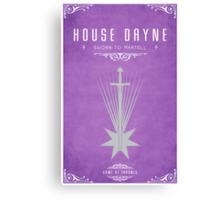 House Dayne Canvas Print