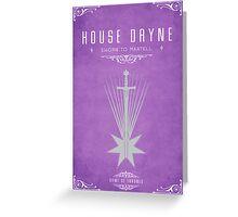 House Dayne Greeting Card