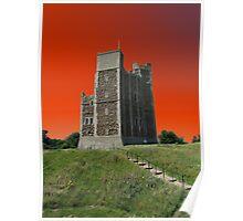 Orange Tango, Orford Castle Poster