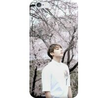 "Jungkook ""Cherry Blossom"" iPhone Case/Skin"