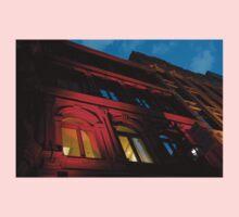City Night Walks - the Red Facade Kids Tee