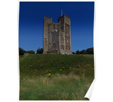 The Keep & Earthworks, Orford Castle Poster