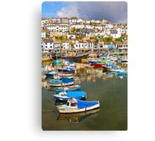 Brixham Canvas Print