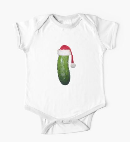 Christmas Pickle One Piece - Short Sleeve