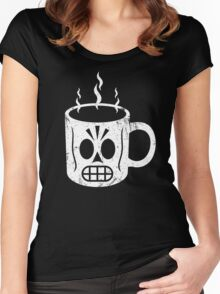 GRIM CAFE Women's Fitted Scoop T-Shirt