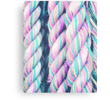 Candy Ropes Canvas Print