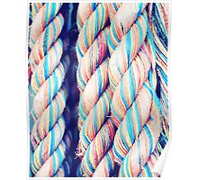 Rainbow Ropes Poster