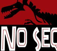 No Sequel Dinosaur Sticker