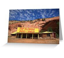 Route 66 Trading Post Greeting Card