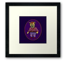 Mardy Hero Framed Print