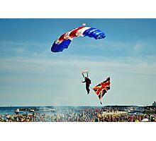 Bringing Home the Flag ~ RAF Falcons Photographic Print