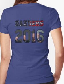 Sanders 2016 Womens Fitted T-Shirt