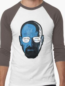 Heisenberg Knock Men's Baseball ¾ T-Shirt