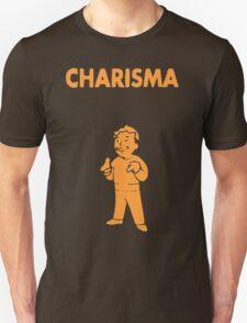 Fallout - S.P.E.C.I.A.L. Charisma orange T-Shirt