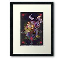 Sleepy Hollow - Abbie and Crane  Framed Print
