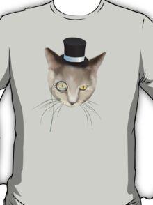 Dapper Cat About Town T-Shirt