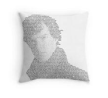 Every Sherlock Quote! Throw Pillow