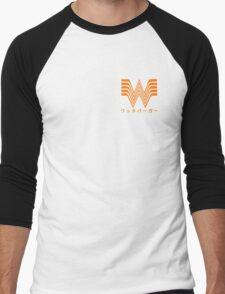 Whataburger X Japan Men's Baseball ¾ T-Shirt