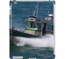 Sheriff's Patrol Boat iPad Case/Skin