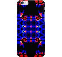 Blue & Orange Timer iPhone Case/Skin
