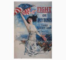 Fight or buy bonds Third Liberty Loan Kids Tee