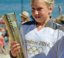 Torch Bearer ~ Lyme Regis by Susie Peek