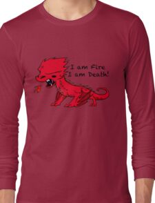Baby Smaug - I am Fire, I am Death Long Sleeve T-Shirt