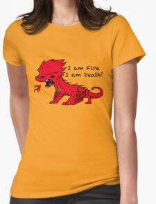 Baby Smaug - I am Fire, I am Death Womens Fitted T-Shirt