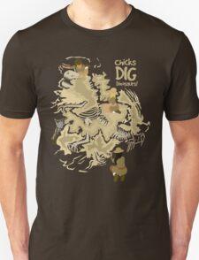 Chicks Dig Dinosaurs T-Shirt