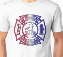 In Memory of NY 343 Style Patriotic Unisex T-Shirt