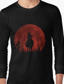 Lonesome Cowboy (v2) Long Sleeve T-Shirt