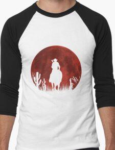 Lonesome Cowboy (v2) Men's Baseball ¾ T-Shirt