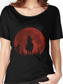 Lonesome Cowboy (v2) Women's Relaxed Fit T-Shirt