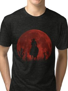 Lonesome Cowboy (v2) Tri-blend T-Shirt