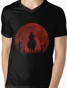 Lonesome Cowboy (v2) Mens V-Neck T-Shirt