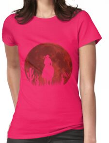 Lonesome Cowboy (v2) Womens Fitted T-Shirt