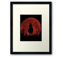 Lonesome Cowboy (v2) Framed Print