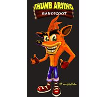 Thumb Arsing Bandicoot Photographic Print
