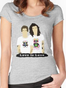 Larry Stylinson 4 Women's Fitted Scoop T-Shirt