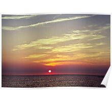Sunset in Reigi Poster