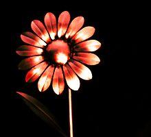 metallic flower heads  by Forfarlass