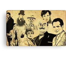 Mystery Page Canvas Print